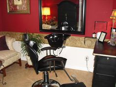 Home hair salon ideas