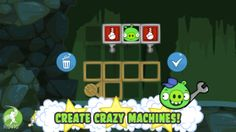 iPhone Screenshot 4 Bad Piggies From the creators of Angry Birds: an all new game from the PIGS' point of view!