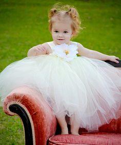 Beautiful Ivory Princess Dress