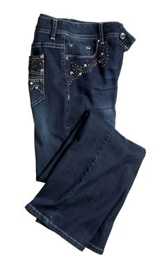 Platinum Bling Bootcut Jean #chicos