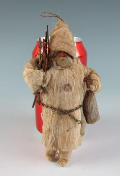 §§§ : antique cotton batting santa