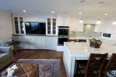 Kitchen & Entertainment Center Remodel