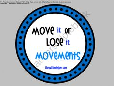 Move it or Lose it! Visual Movement Cues from The Autism Helper on TeachersNotebook.com -  (14 pages)  - Children with autism or special needs as well as typically developing children often benefit from a visual cue when following one step directions. Incorporating movement and exercise into your classroom routine can help improve attention and behavior enab