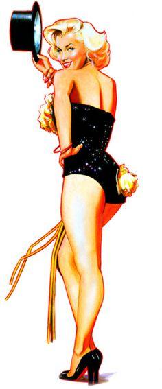 Marilyn Monroe by Jim Silke