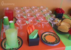 Cinco de Mayo/Fiesta Dinner Party Party Ideas | Photo 7 of 7 | Catch My Party
