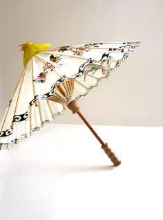 vintage paper parasol