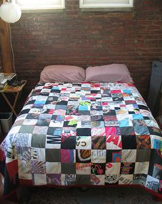 patchwork tshirt quilt