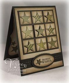 Seeing Stars happy birthdays, masculine birthday cards, guy cards, masculine cards, birthday idea, birthday guy, happi birthday, scrapbooking card masculine, man card