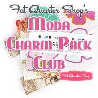Fat Quarter Shop'sModa Charm Pack Club $32/month