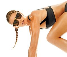 Sculpt Your Body in Six Easy Moves #SELFmagazine