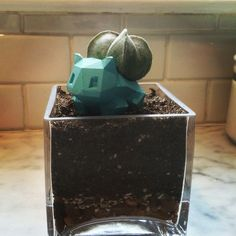 Picture of 3D Printed Bulbasaur Planter