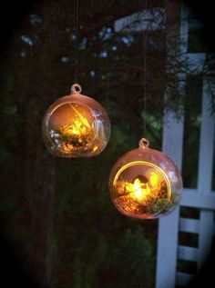 Hometalk :: Firefly Globes - Outdoor Summer Party Accents