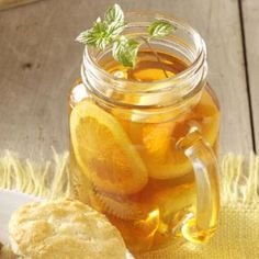 Sweet Tea Concentrate Recipe from Taste of Home -- shared by Natalie Bremson of Plantation, Florida