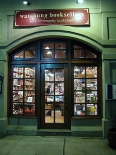Watchung Booksellers, Montclair NJ