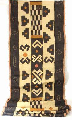 Africa | Kuba raffia cloth from the DR Congo | ca. late 20th century