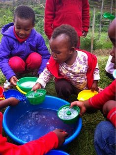 rubberboots and elf shoes: keep it simple water play