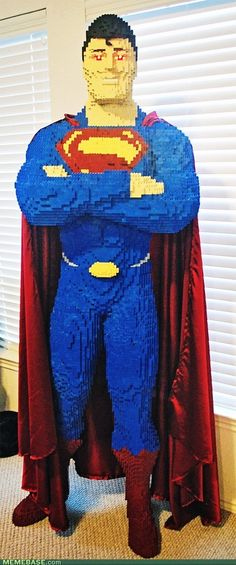 Lego Superman Built By 14 Year Old Super Kid