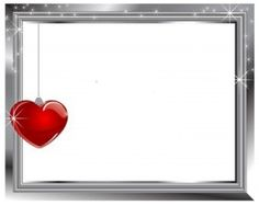 silver-frame-with-glass-red-heart