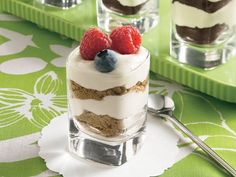 Cheesecake Shot-Glass Desserts