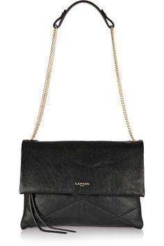 LANVIN Sugar quilted leather shoulder bag