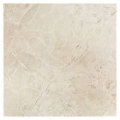 Constanza Marfil Porcelain Tile 18 x 18 in. $5.39 a SF. This tile best represents a Natural stone like Marble or a Polished Travertine.
