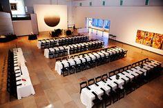 Hogwarts-style reception seating