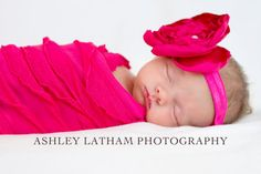 Pink Ruffle Newborn Wrap Photography Prop Set Baby Photo Prop. Baby Wrap. New Born Wrap. Hot Pink Photo Prop Set on Etsy, $16.95