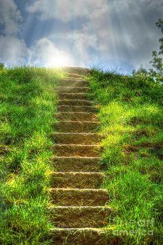Magical Stairway - Laumeier Sculptuur Park - St Louis - Missouri - USA