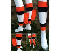 Nemo inspired Runners Lycra Calf Sleeves with Fins on Etsy, $29.00