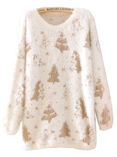 Christmas is coming and here is a super cute Christmas Tree Patterned Sweater