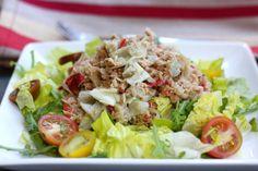 Mayo Free Tuna Salad - Egg Free, Nut Free