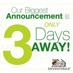 Something Big is Happening in 3 Days! Stay Tuned! Monday, Feb 3 @ 2PM EST. #Inventors #Entrepreneurs #Innovators