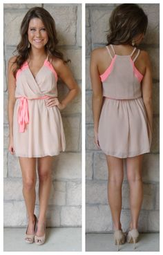"""What Goes Around Dress"" cute summer dress"