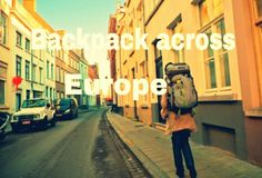 europe travel backpack