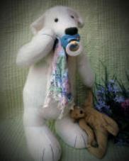 DIY, Sewing Pattern , Stuffed Toy  - HUGE Floppy Teddy Bear Patterns .judilynndesigns.com