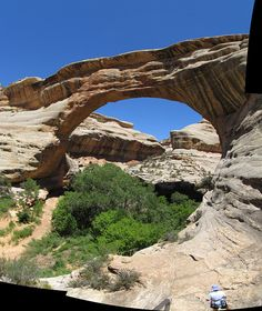 Utah, US / Natural Bridges National Monument / Sipapu Natural Bridge