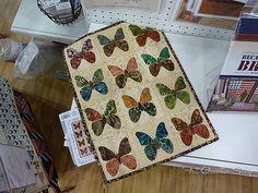 Laundry Basket Quilts -  Edyta Sitar - butterflies
