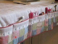 Sewing Organizer for sewing table--great idea