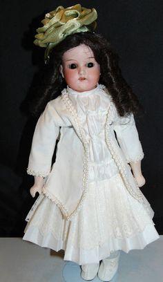Antique Bisque Head Doll Old Body Armand Marseille 370 Dep German Germany | eBay
