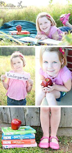 Back to School Photography. Kindergarten Photography