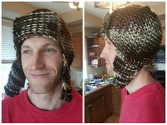 Men's Loom Knit Bomber / Trapper Hat