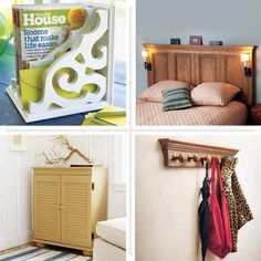 27 do-it-yourself bedroom furnishings projects that add appeal—and save you money. | thisoldhouse.com