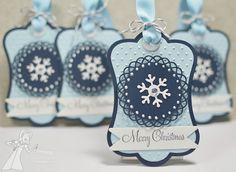 Christmas tags by Karen