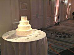 Lauren + Harris Wedding Cake | @fsdallas