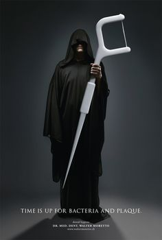 The Grim Reaper of Bacteria and Plaque!  #Dentist #Dental Jokes #Hygienist #Dentaltown #Quotes #Orthodontist