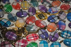 Custom Tartan Necklace  Made to Order by TartanHearts on Etsy, $15.00