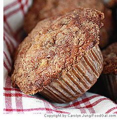 Cinnamon-Apple Yogurt Muffins