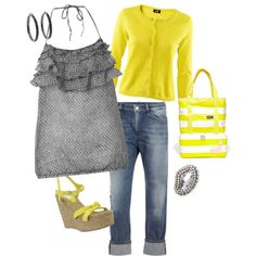 Spring: yellows & grey