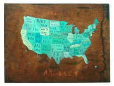 Oliver Jeffers Projects - Cartography