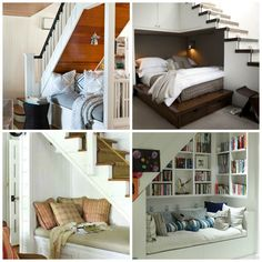 stair, reading nooks